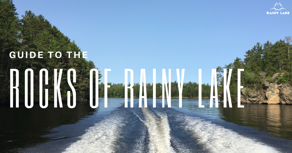 guide to rainy lake rocks