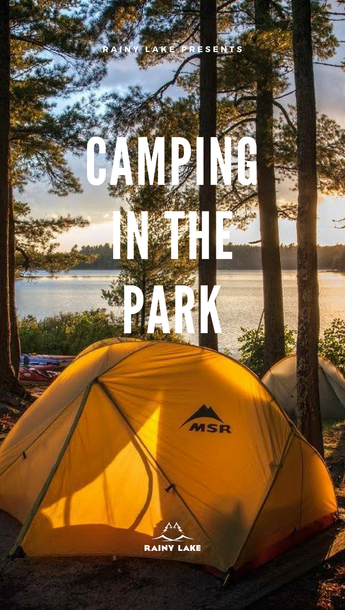 camping in voyageurs national park